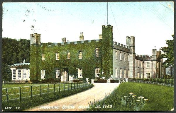 Tregenna Castle Hotel St Ives Cornwall